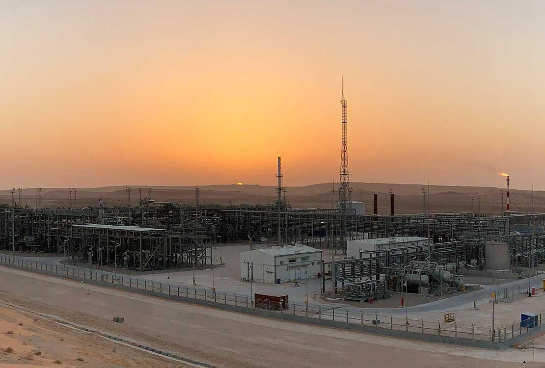Portrait of Gas Plant