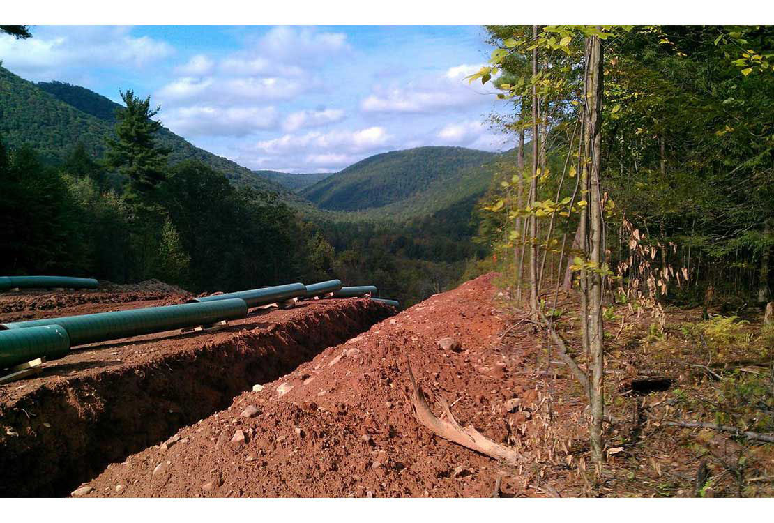 Portrait of Pipeline and Compressor Station Project