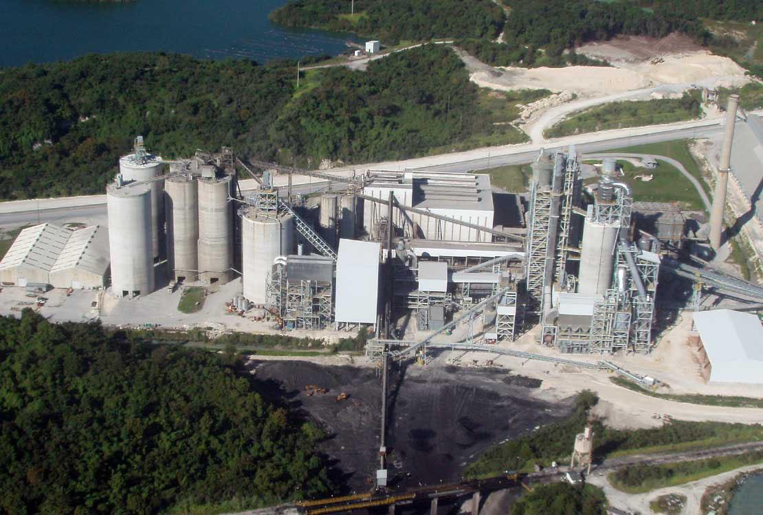 Portrait of Cement Plant