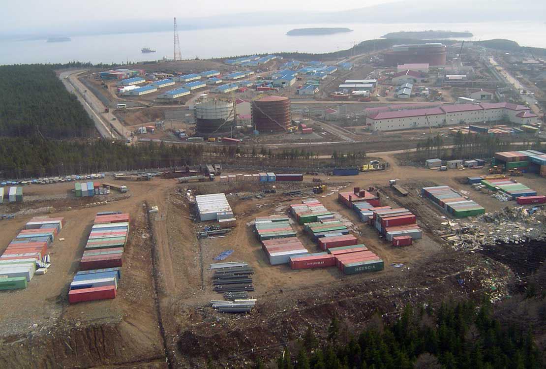 Portrait of Oil Terminal Project