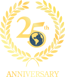 Long International 25th Anniversary Logo