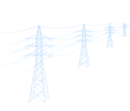 Electrical towers and power lines