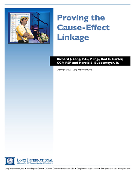 Proving the Cause-Effect Linkage